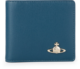 Vivienne Westwood Saffiano Wallet With Coin Pocket 51010009 Blue