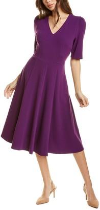 Donna Morgan V-Neck A-Line Dress