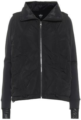Alo Yoga Cool Breaker zip-through jacket
