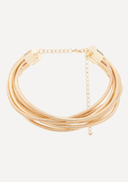 Bebe Multi-Coil Collar Necklace