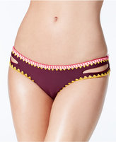 Jessica Simpson Woodstock Reversible Cutout Hipster Bikini Bottoms