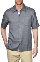 Nat Nast 'McCarren' Regular Fit Short Sleeve Silk Sport Shirt