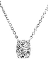 Bony Levy Women's 'Mika' Mini Rectangle Pave Diamond Pendant Necklace (Nordstrom Exclusive)