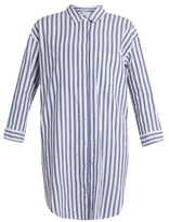 Velvet by Graham & Spencer Ivy striped cotton shirtdress