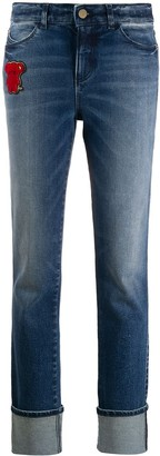 Emporio Armani Teddybear Patch Jeans