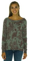 Lucky Brand Women's Printed Pullover Sweater
