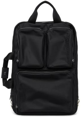 Diesel Black Trophy Backpack