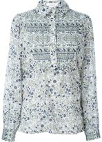 See by Chloe Boho Floral print shirt - women - Cotton - 38
