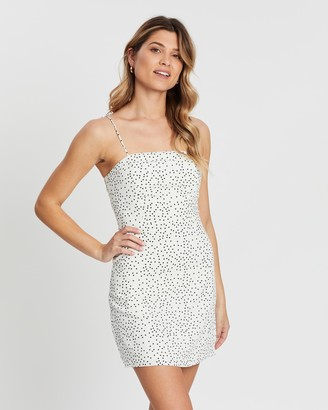 Atmos & Here Stella Polka Mini Dress