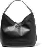 Tory Burch Marion textured-leather shoulder bag