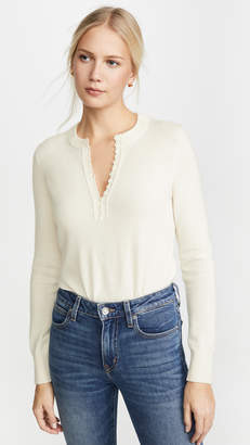Theory Cashmere Button Henley