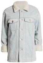 3x1 Reversible Faux Fur & Denim Jacket