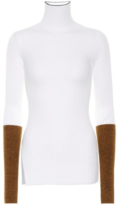 MONCLER GENIUS 2 MONCLER 1952 ribbed turtleneck sweater