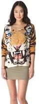 MinkPink Roar Printed Sweater