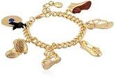 Sam Edelman Gold Edelman Icon Charm Bracelet