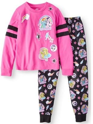 My Little Pony Girls' Poly 2-Piece Pajama Sleep Set