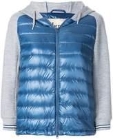 Herno padded hoodie jacket