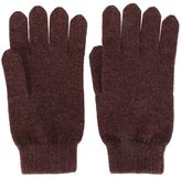 N.Peal cashmere ribbed gloves
