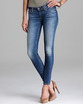 7 For All Mankind Jeans - The Skinny in Rue De Lille with Squiggle Pocket