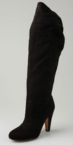 Moschino Cheap and Chic Over the Knee High Heel Boot