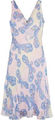 Diane von Furstenberg Dita Printed Silk-chiffon Dress