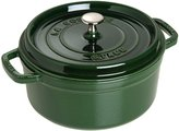 Staub Cast Iron Round Cocotte - Basil - 2.75 QT