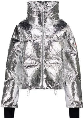 Cordova Mont Blanc metallic down ski jacket