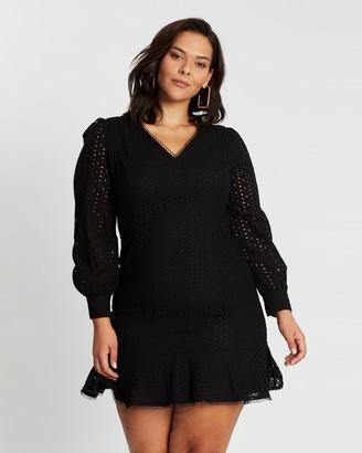 Atmos & Here Lola Broderie Dress