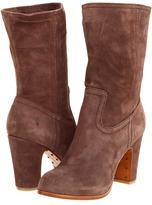 Frye Mirabelle Short (Dark Brown) - Footwear