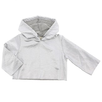Douuod Hoodie In Laminated Fabric