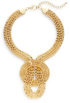 Saks Fifth Avenue Mesh Statement Necklace