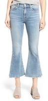 Women's 7 For All Mankind Ali Split Hem Crop Flare Jeans