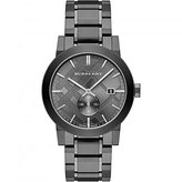 Burberry Men's City BU9902 Gunmetal Stainless-Steel Swiss Quartz Watch