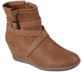Skechers Women's Nobel Strappy Wedge Ankle Boot