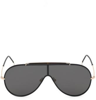 Tom Ford Mack 54MM Shield Sunglasses