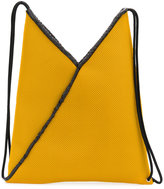MM6 MAISON MARGIELA mesh drawstring backpack - women - Polyester - One Size
