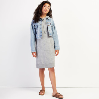 Roots Hooded Sweater Dress
