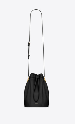 Saint Laurent Bucket Bag Talitha Medium Bucket Bag In Smooth Leather Black Onesize