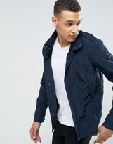 Armani Jeans Hooded Jacket Slim Fit in Navy