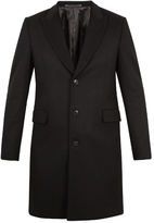 Paul Smith Single-breasted wool and cashmere-blend overcoat