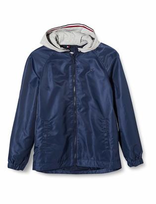 Tommy Hilfiger Girl's Essential Tommy Flag Jacket