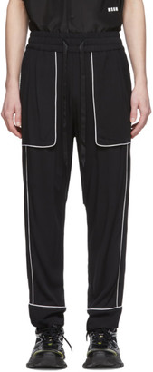 Nahmias Black Courtside Trousers