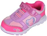 "Peppa Pig Girls' ""Contrast Netting"" Sneakers"