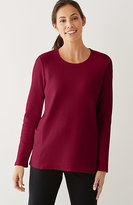 J. Jill Pure Jill Diamond-Textured Top