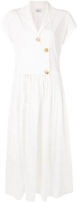 Co Layered Shirt Dress
