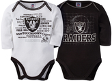 Gerber Oakland Raiders Two-Piece Long-Sleeve Bodysuit - Infant