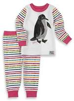 Eric Carle IntimoTM 2-Piece Penguin Long-Sleeve Pajama Set in Pink