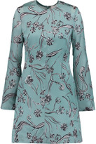 3.1 Phillip Lim Printed silk-crepe mini dress