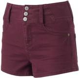Mudd Juniors' Super High Rise Shortie Shorts