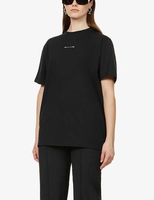 Alyx Logo-print cotton-blend jersey T-shirt